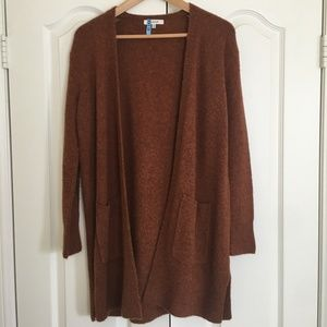 Madewell Kent Cardigan Sweater Heather Clay